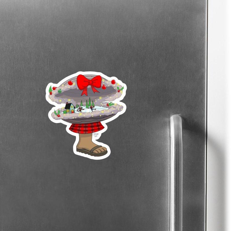 Valvie The Christmas Clam Accessories Magnet by jasonmayart's Artist Shop