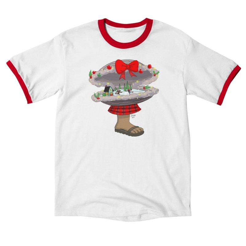 Valvie The Christmas Clam Women's T-Shirt by jasonmayart's Artist Shop