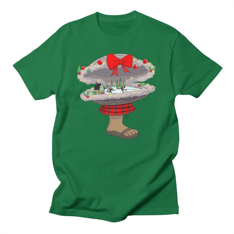 Valvie The Christmas Clam Men's T-Shirt by jasonmayart's Artist Shop