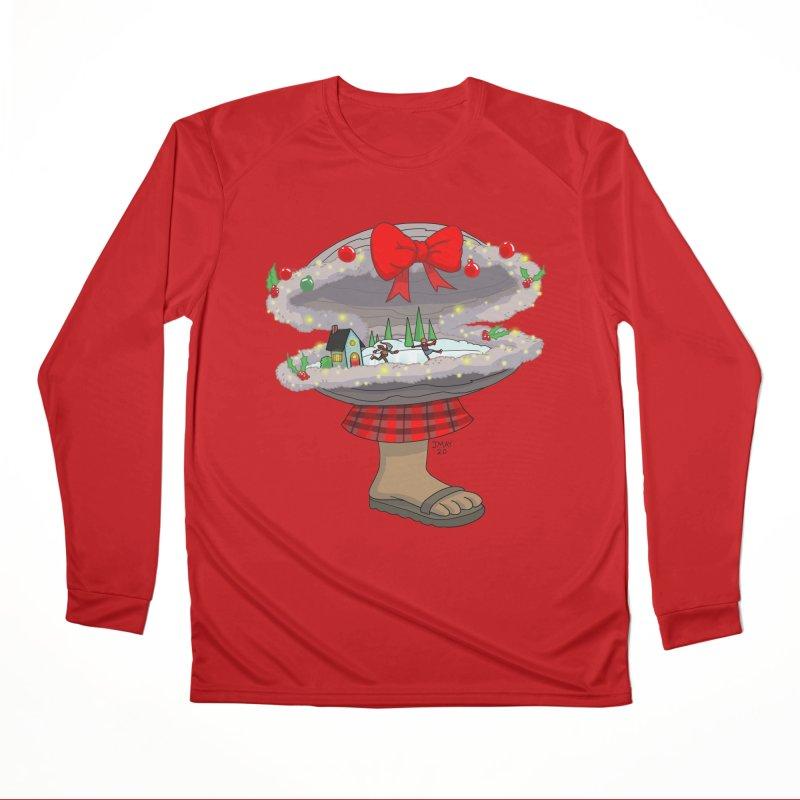 Valvie The Christmas Clam Women's Longsleeve T-Shirt by jasonmayart's Artist Shop
