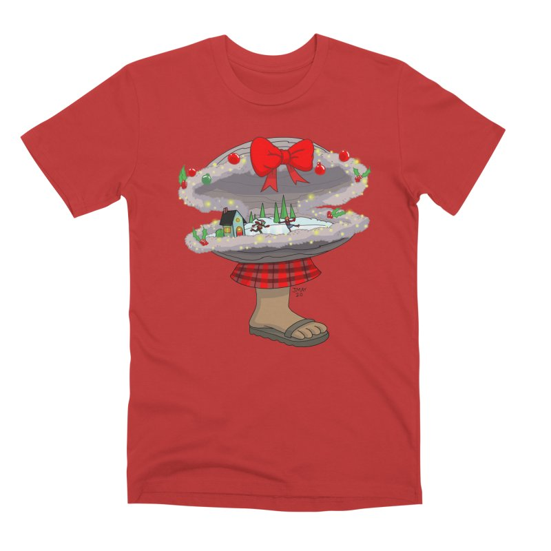 Valvie The Christmas Clam Men's T-Shirt by jasonmayart's Artist Shop