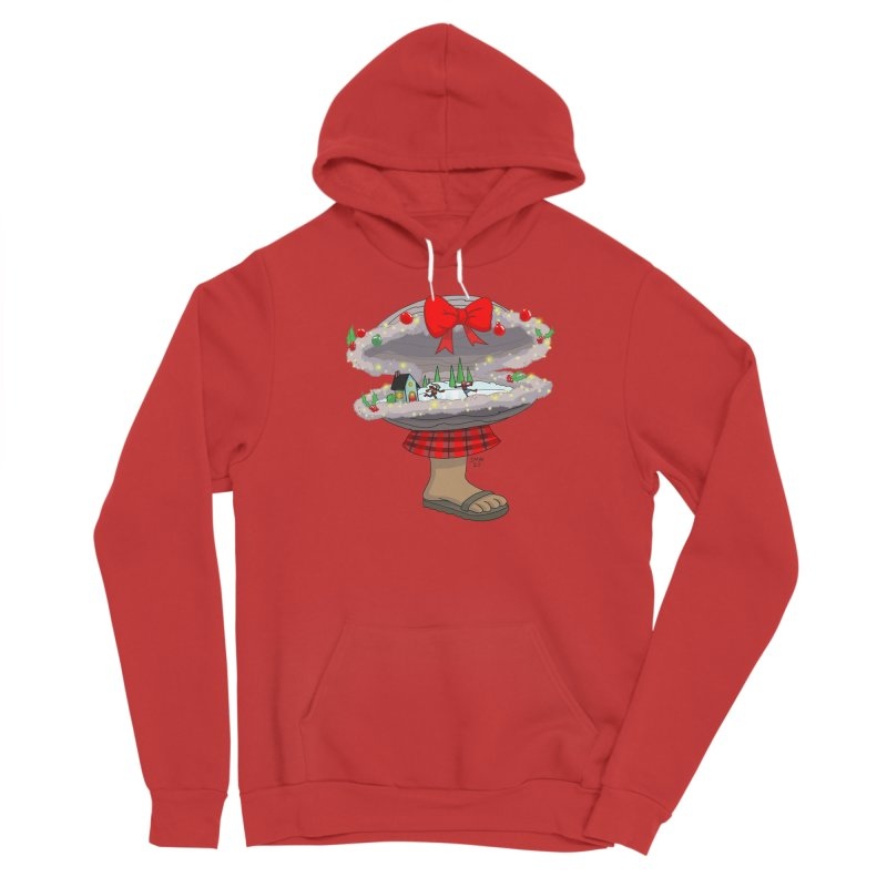 Valvie The Christmas Clam Men's Pullover Hoody by jasonmayart's Artist Shop