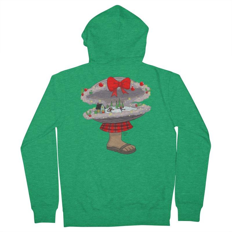Valvie The Christmas Clam Women's Zip-Up Hoody by jasonmayart's Artist Shop