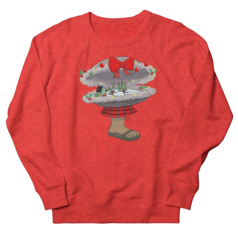 Valvie The Christmas Clam Men's Sweatshirt by jasonmayart's Artist Shop