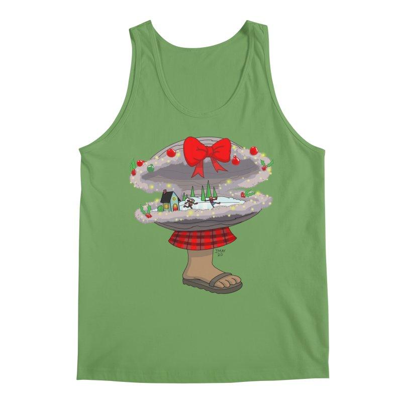 Valvie The Christmas Clam Men's Tank by jasonmayart's Artist Shop