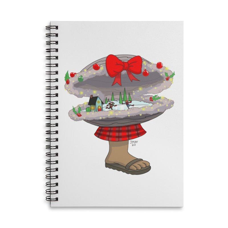 Valvie The Christmas Clam Accessories Notebook by jasonmayart's Artist Shop