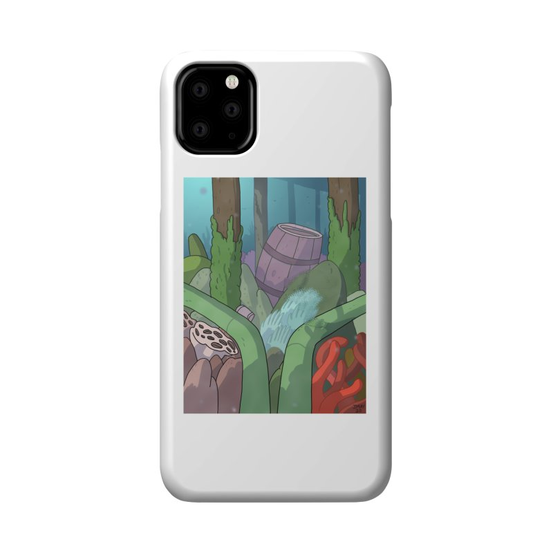 Valvie The Christmas Clam's Dock Accessories Phone Case by jasonmayart's Artist Shop