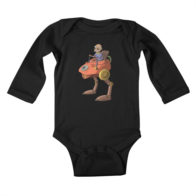 Smooth Operator Kids Baby Longsleeve Bodysuit by jasonmayart's Artist Shop