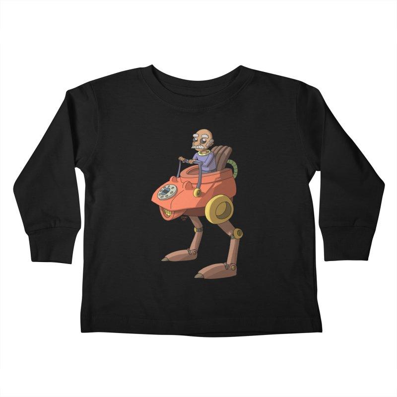 Smooth Operator Kids Toddler Longsleeve T-Shirt by jasonmayart's Artist Shop