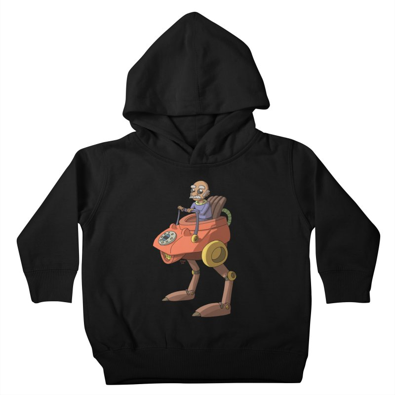 Smooth Operator Kids Toddler Pullover Hoody by jasonmayart's Artist Shop