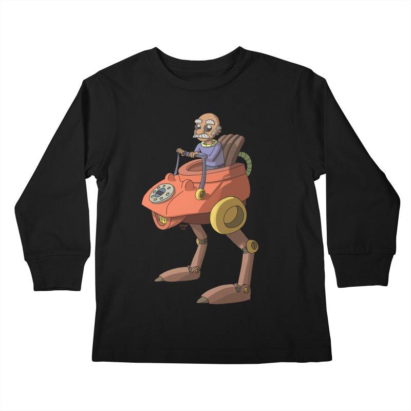 Smooth Operator Kids Longsleeve T-Shirt by jasonmayart's Artist Shop