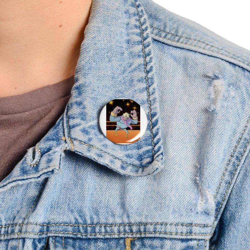Potato Wrestler - Thanksgiving Accessories Button by jasonmayart's Artist Shop