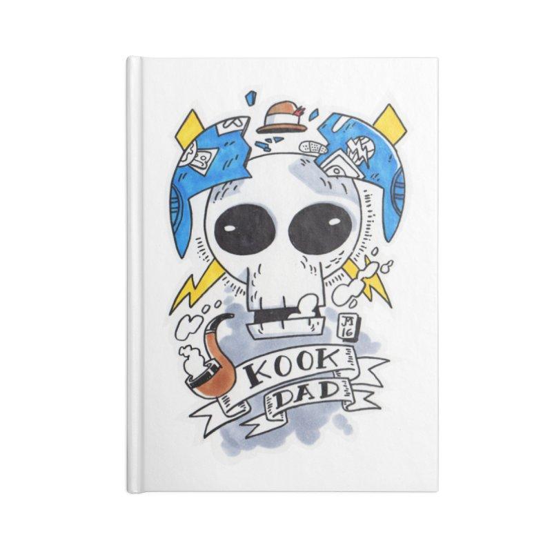 The Original Kook Dad Accessories Notebook by jasonmayart's Artist Shop