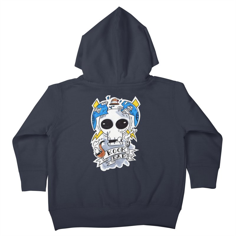 The Original Kook Dad Kids Toddler Zip-Up Hoody by jasonmayart's Artist Shop