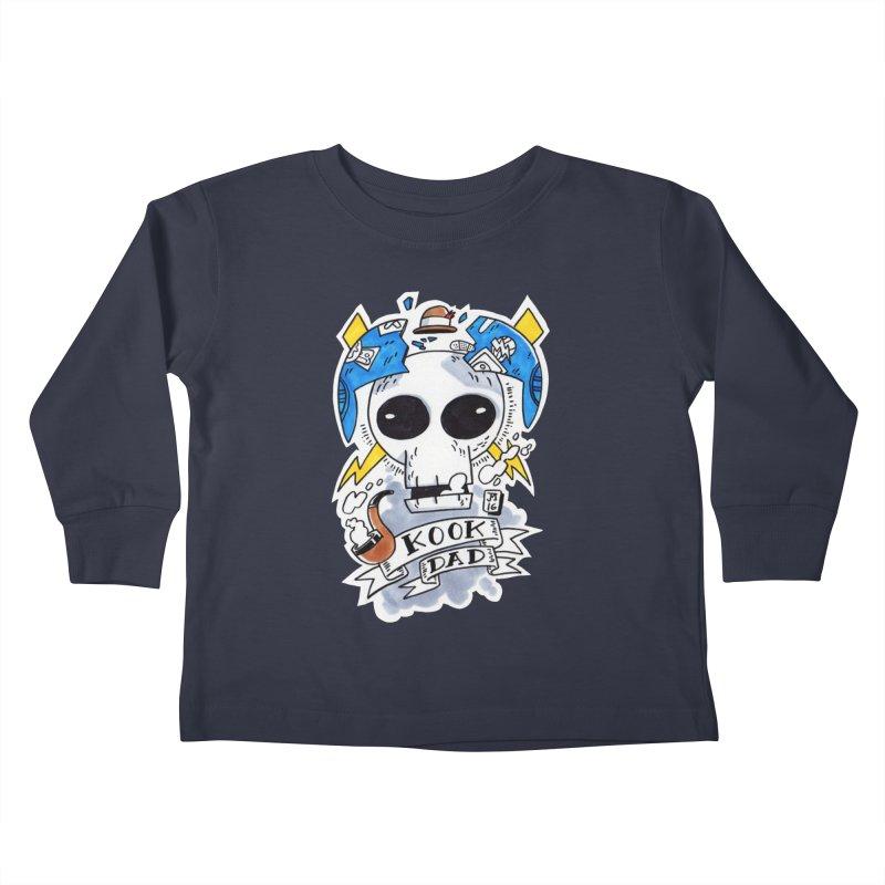 The Original Kook Dad Kids Toddler Longsleeve T-Shirt by jasonmayart's Artist Shop