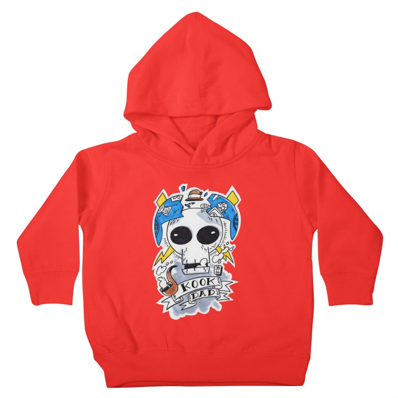 The Original Kook Dad Kids Toddler Pullover Hoody by jasonmayart's Artist Shop