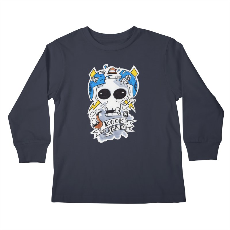 The Original Kook Dad Kids Longsleeve T-Shirt by jasonmayart's Artist Shop