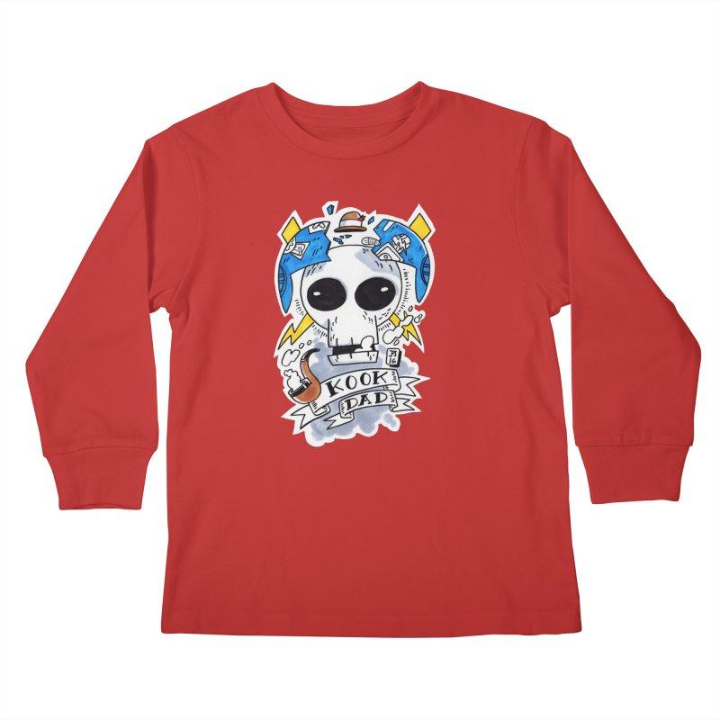 The Original Kook Dad Kids Longsleeve T-Shirt by jasonmayart's Artist Shop
