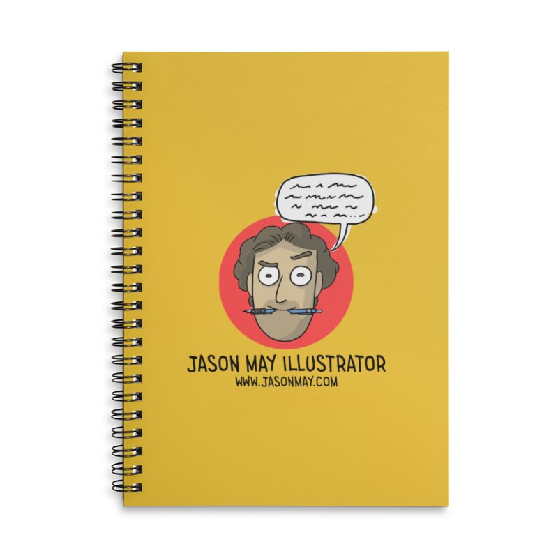 Jason May Illustrator Accessories Notebook by jasonmayart's Artist Shop