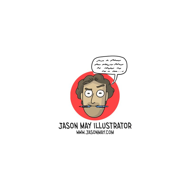 Jason May Illustrator Accessories Notebook by jasonmayart's Artist Shop