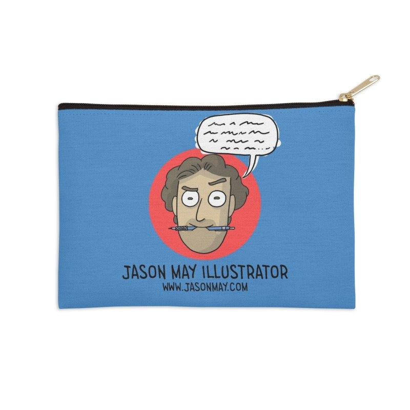 Jason May Illustrator Accessories Zip Pouch by jasonmayart's Artist Shop