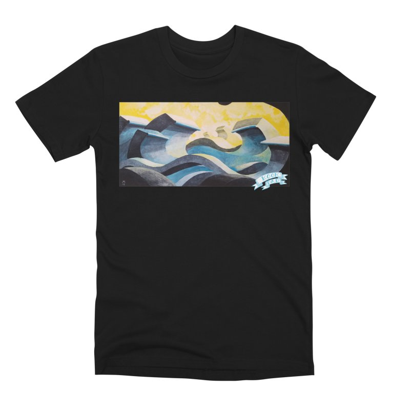 Concrete Waves Men's T-Shirt by jasonmayart's Artist Shop