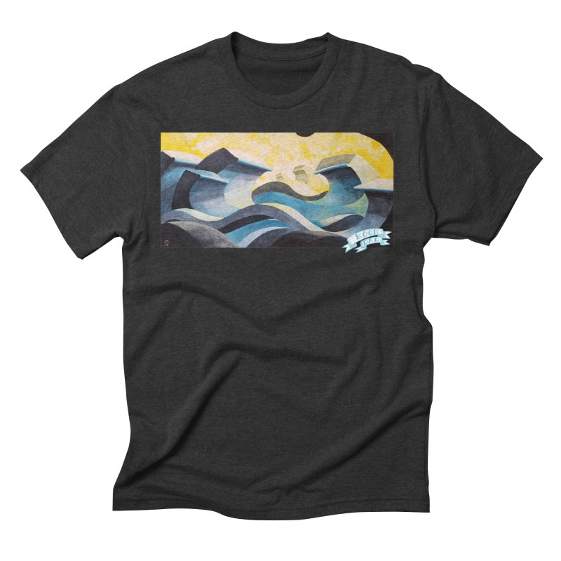Concrete Waves Men's T-Shirt by jasonmayart's Artist Shop