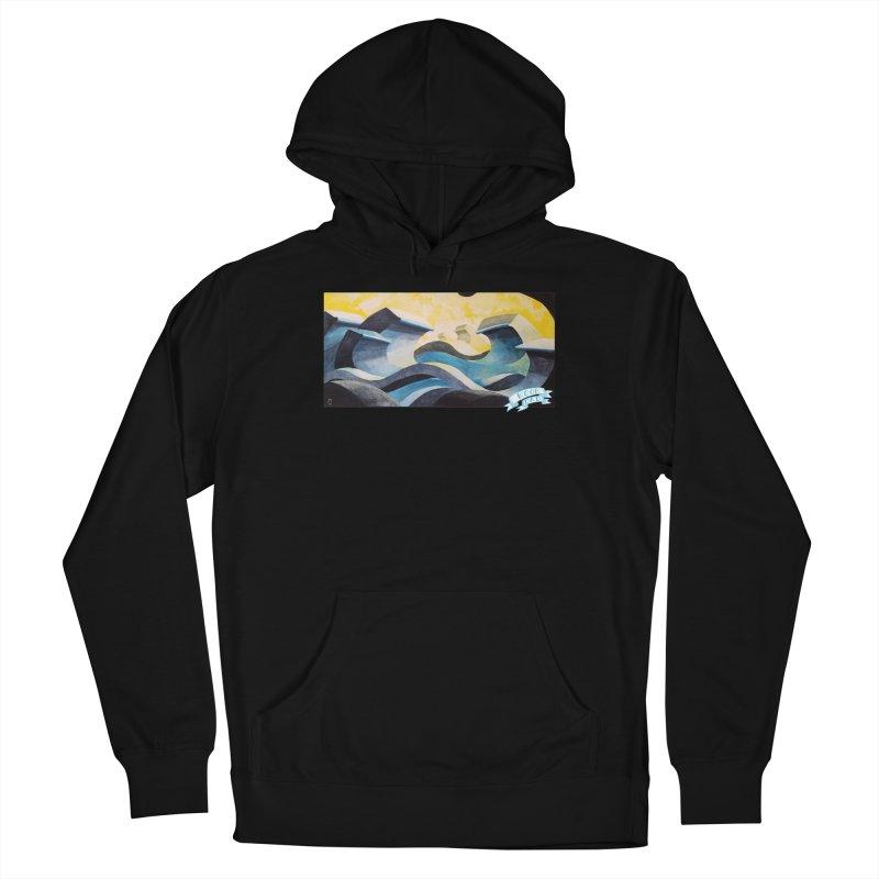 Concrete Waves Men's Pullover Hoody by jasonmayart's Artist Shop