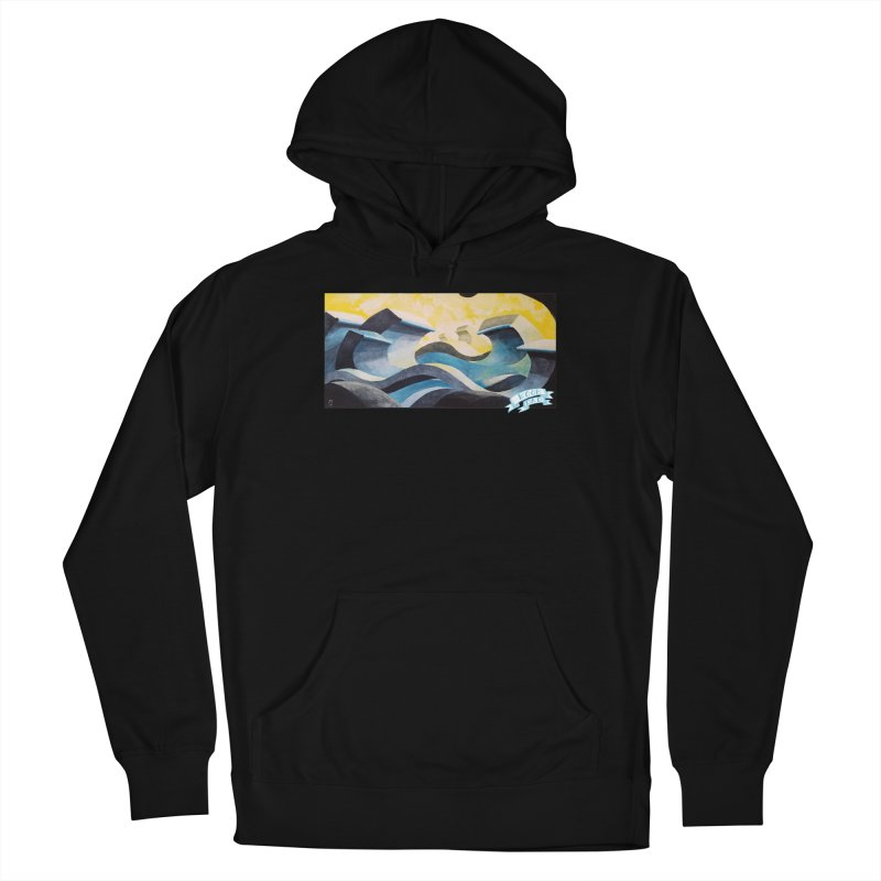 Concrete Waves Women's Pullover Hoody by jasonmayart's Artist Shop