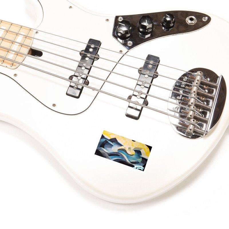 Concrete Waves Accessories Sticker by jasonmayart's Artist Shop