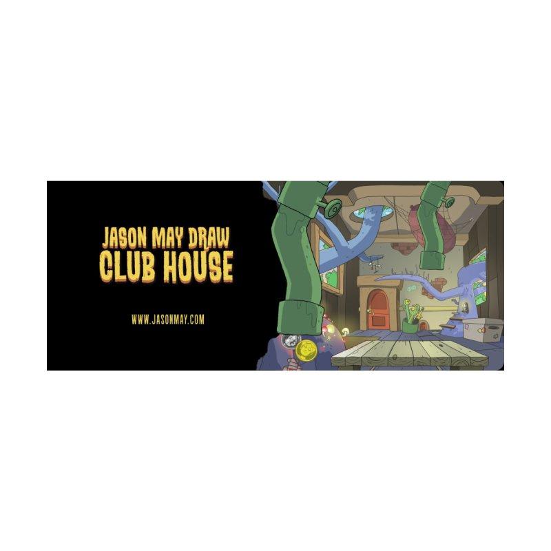 Jason May Draw Club House Mug Accessories Mug by jasonmayart's Artist Shop