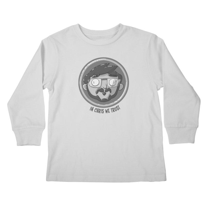The Chris Nickel! Kids Longsleeve T-Shirt by jasonmayart's Artist Shop