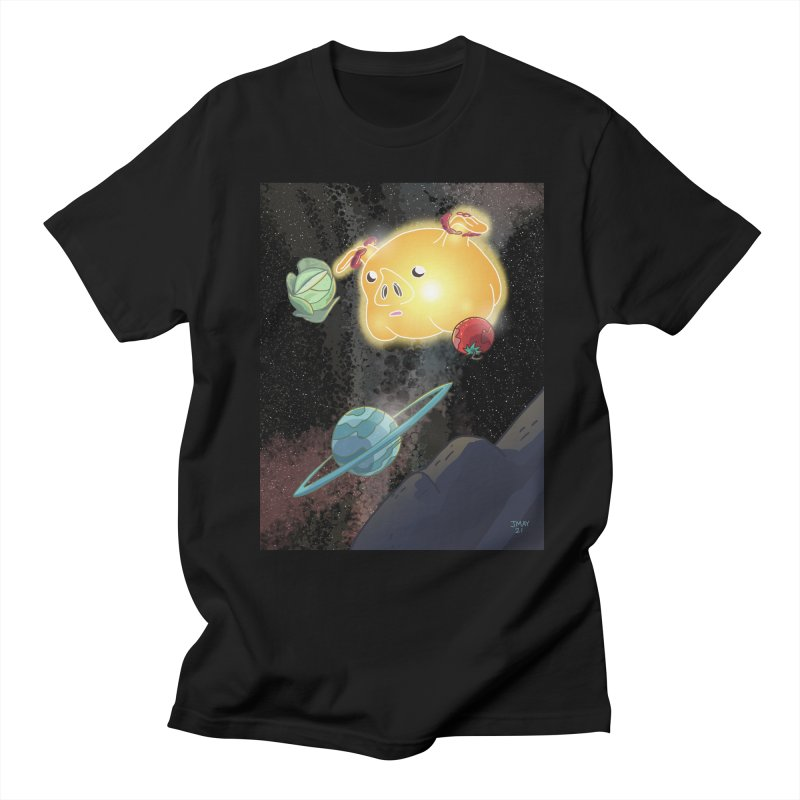 Pigs In Space from Space March on the Jason May Draw Club House Men's T-Shirt by jasonmayart's Artist Shop