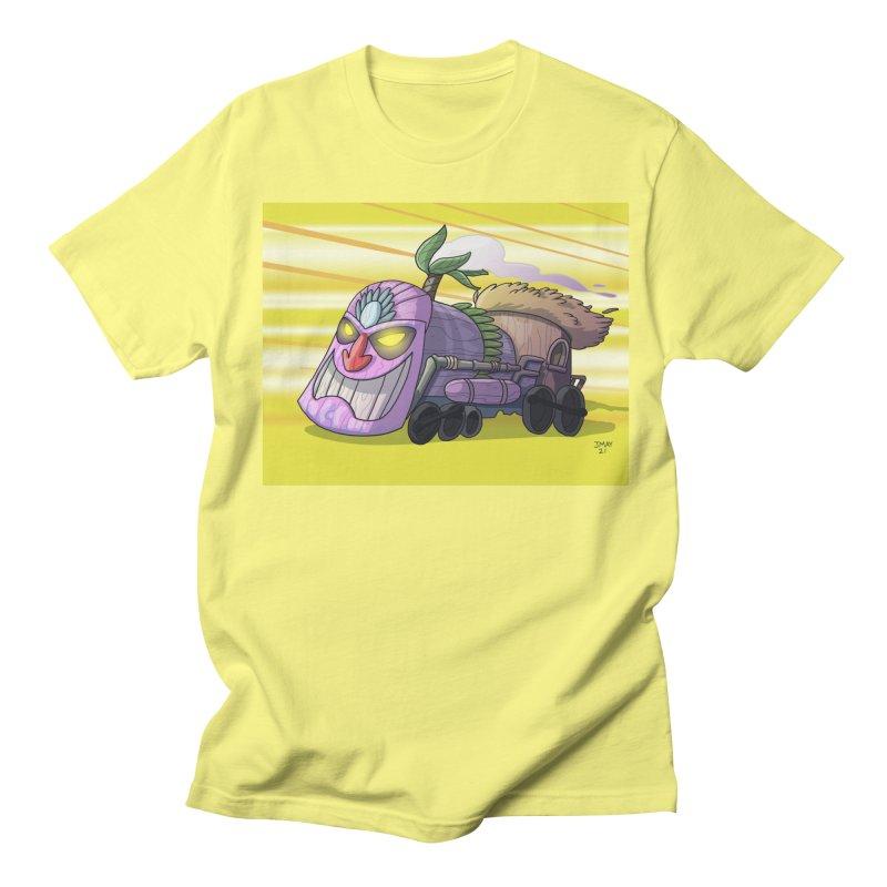 Tiki Train! from Jason May Draw Club House Men's T-Shirt by jasonmayart's Artist Shop