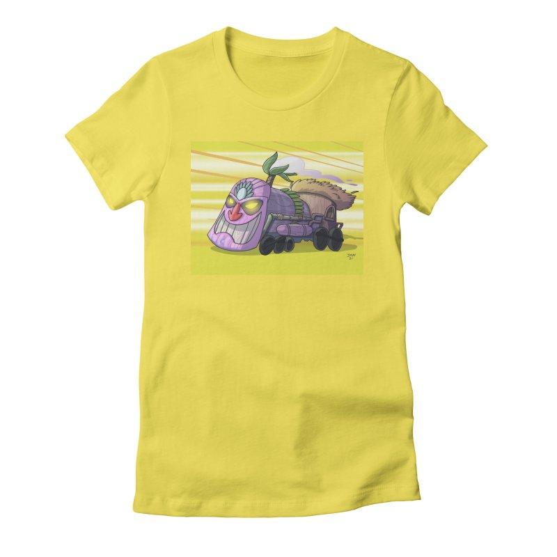 Tiki Train! from Jason May Draw Club House Women's T-Shirt by jasonmayart's Artist Shop