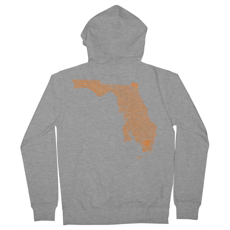 Florida Gator 2 Women's Zip-Up Hoody by Jason McDade