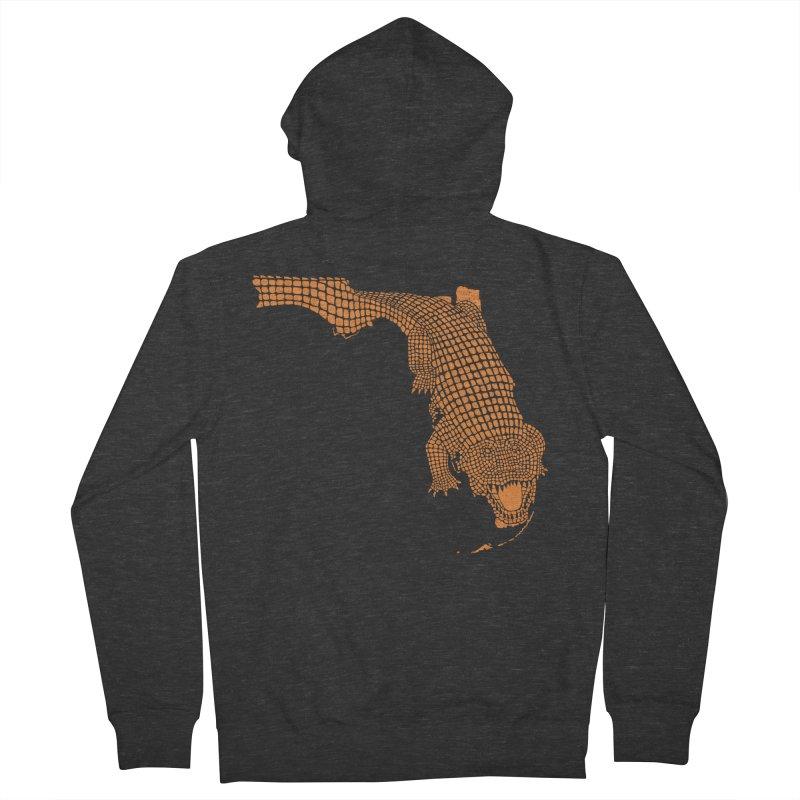 Florida Gator 2 Men's Zip-Up Hoody by Jason McDade
