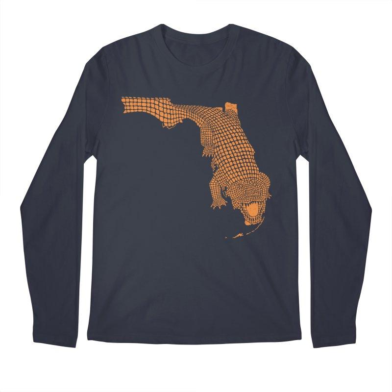 Florida Gator 2 Men's Longsleeve T-Shirt by Jason McDade