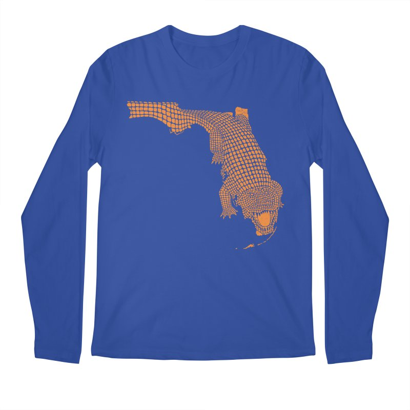 Florida Gator 2 Men's Longsleeve T-Shirt by Jason McDade