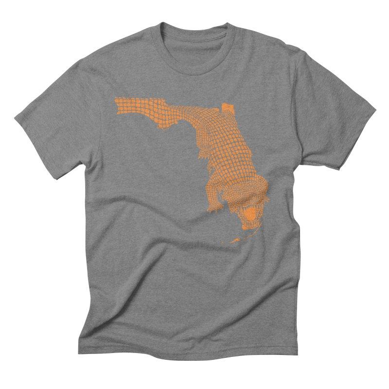 Florida Gator 2 Men's Triblend T-Shirt by Jason McDade