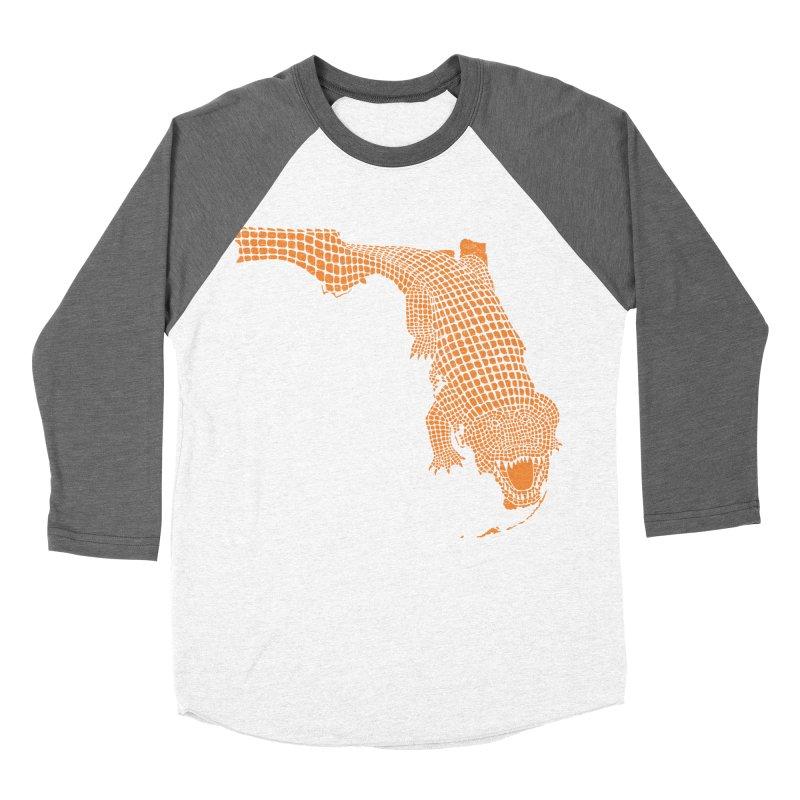 Florida Gator 2 Women's Baseball Triblend T-Shirt by Jason McDade