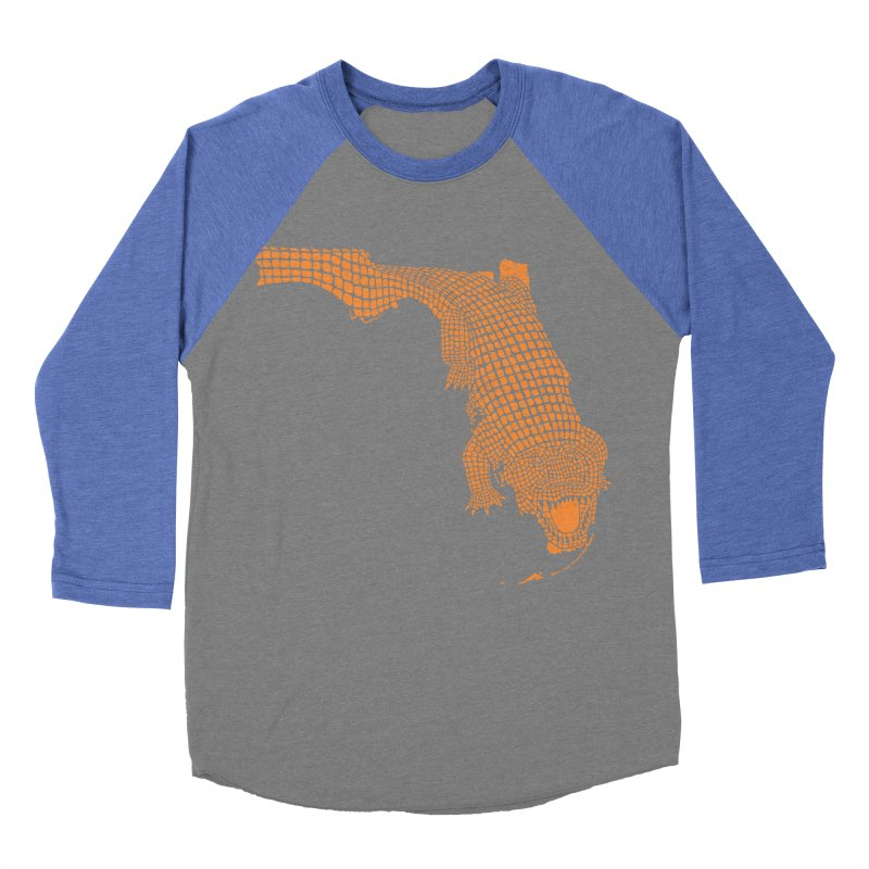 Florida Gator 2 Women's Baseball Triblend T-Shirt by Jason McDade