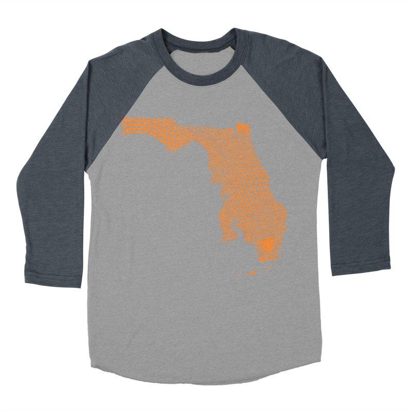 Florida Gator 2 Men's Baseball Triblend T-Shirt by Jason McDade