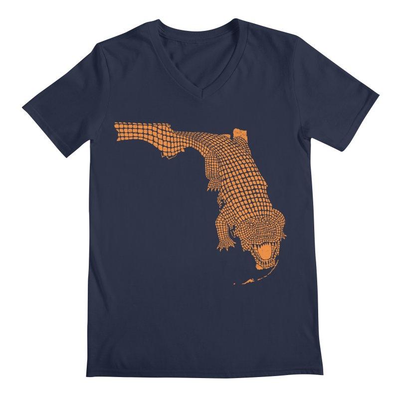 Florida Gator 2 Men's V-Neck by Jason McDade