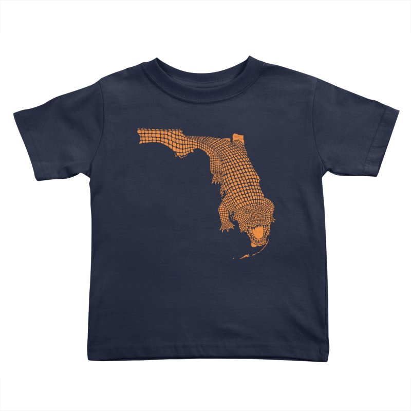 Florida Gator 2 Kids Toddler T-Shirt by Jason McDade
