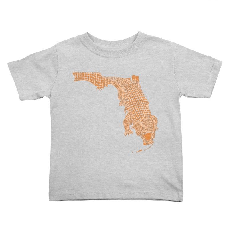 Florida Gator 2 Kids Toddler T-Shirt by Jason McDade