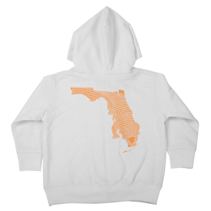 Florida Gator 2 Kids Toddler Zip-Up Hoody by Jason McDade
