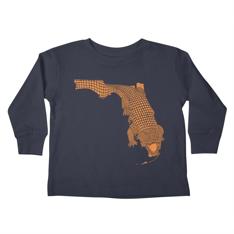 Florida Gator 2 Kids Toddler Longsleeve T-Shirt by Jason McDade