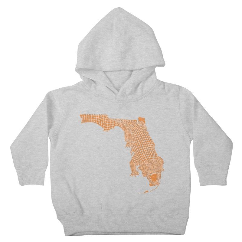 Florida Gator 2 Kids Toddler Pullover Hoody by Jason McDade