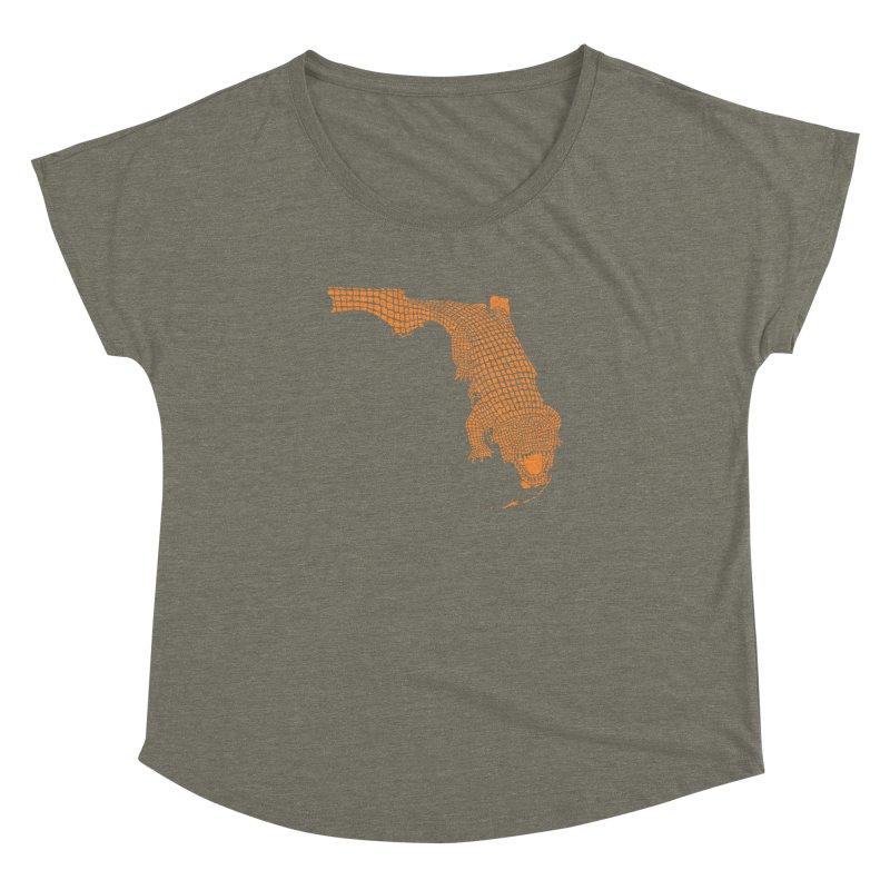 Florida Gator 2 Women's Dolman by Jason McDade